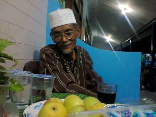 Bapak Darsiman saksi dan tokoh Sejarah Desa Deru
