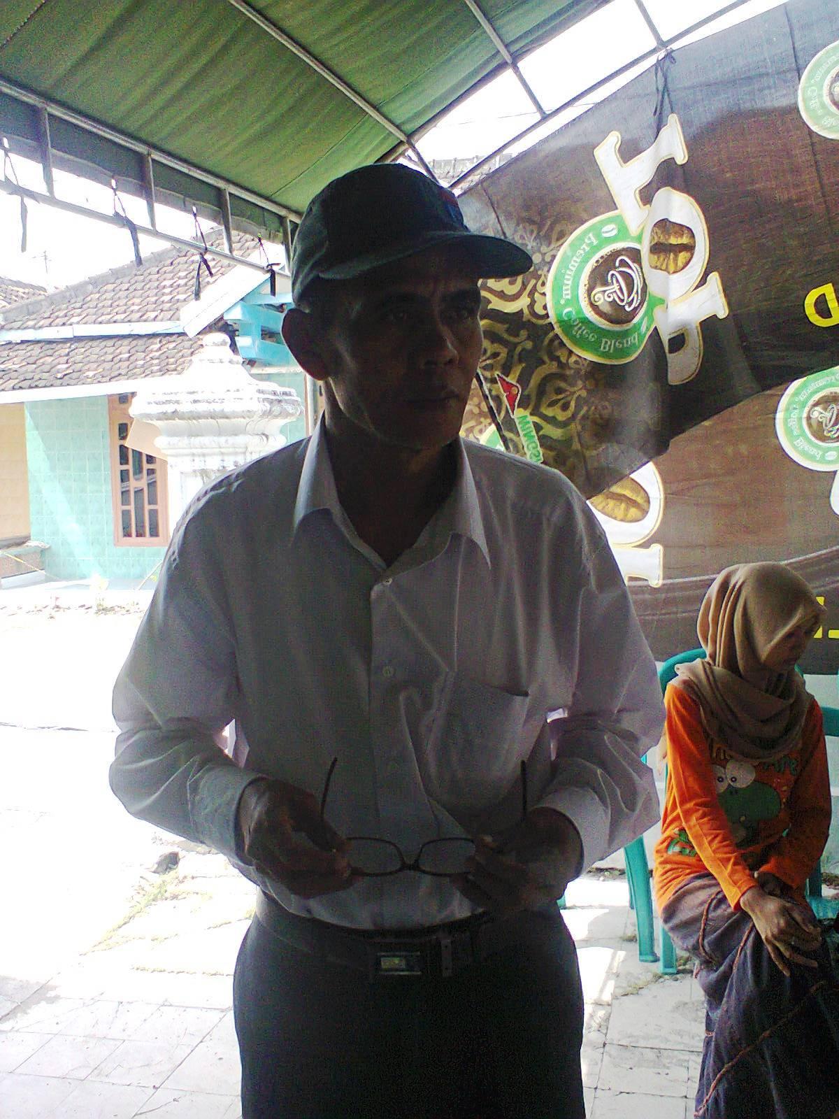 Suminto Ketua KPPS Desa Deru