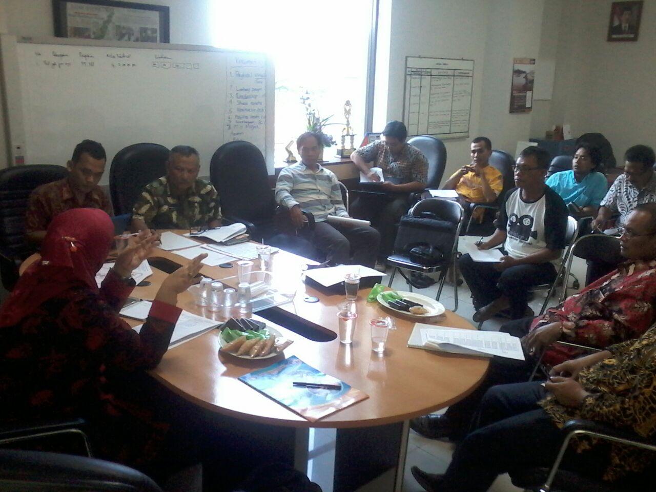 bahasan Festival keterbukaan anggaran Desa di Dinkomifo Bojonegoro